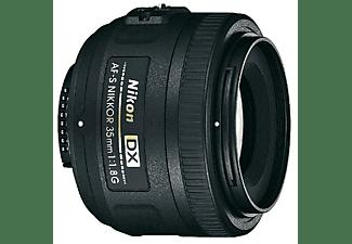 NIKON JAA132DA NIKKOR G - 35 mm f/1.8 AF-S, DX (Objektiv für Nikon F-Mount, Schwarz)