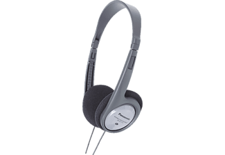 PANASONIC RP-HT090 E-H, On-ear Kopfhörer Grau