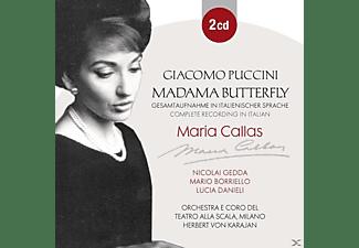 Maria Callas, Nicolai Gedda, Mario Borriello, Lucia Danieli, Orchestra E Coro Del Teatro Alla Scala - Giacomo Puccini: Madama Butterfly  - (CD)