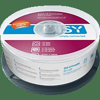 ISY IDV-1100 DVD+R 25er Spindel Printable DVD+R