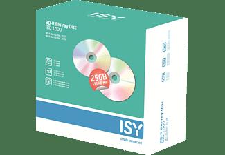 ISY IBD-1000 BD-R 5er Pack Jewelcase Blu-ray Disc