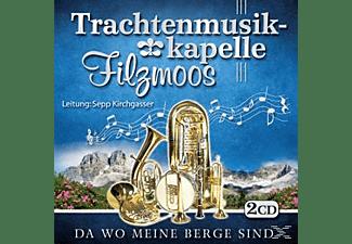 Trachtenmusikkapelle Filzmoos - Da wo meine Berge sind  - (CD)