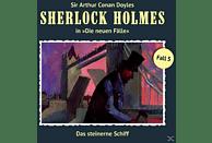 Sherlock Holmes - Die neuen Fälle 05: Das steinerne Schiff - (CD)