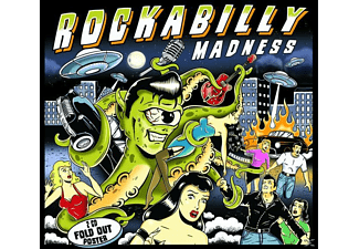 VARIOUS - Rockabilly Madness - Essential Collection  - (CD)