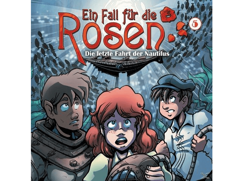 Ein Fall für die Rosen 05 - Die letzte Fahrt der Nautilus - (CD)