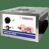 NEMOX Gelato Pro 2000 Eismaschine (200 Watt, Silber)