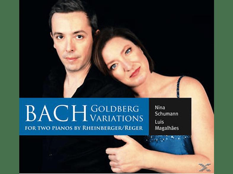 SCHUMANN,NINA & MAGALHAES,LUIS - Goldberg-Variationen für zwei Klaviere [CD]