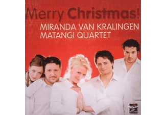 Miranda Van / Matangi Quartet Kralingen - Merry Christmas!  - (CD)