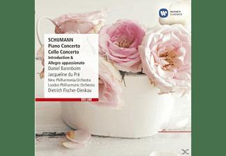 Daniel Barenboim, New Philarmonia Orchestra, The London Philharmonic Orchestra, Du Pre Jacqueline - Cellokonzert, Klavierkonzert  - (CD)