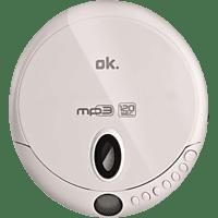 OK. OPC 310-W Tragbarer CD Player Weiß