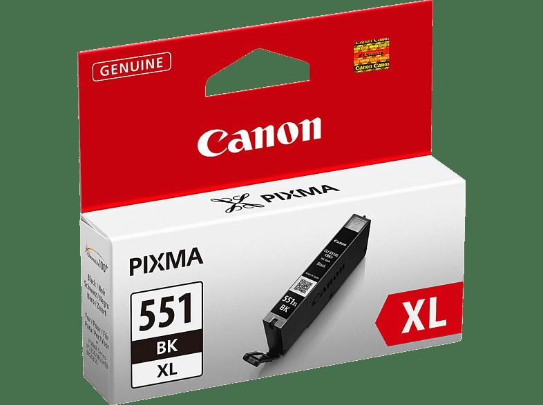 CANON CLI 551XL BK Tintenpatrone Schwarz (6443B001)