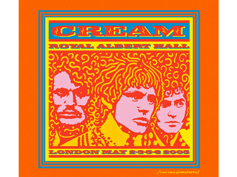 Cream - The Cream - Royal Albert Hall London May 2-3-5-6 2005 [CD]