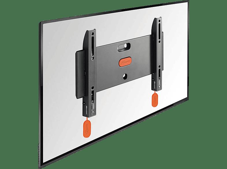 VOGEL´S Vogel's BASE 05 S TV-Wandhalterung für 48-104 cm (19-40 Zoll) Fernseher, starr, max. 20 kg, Wandhalterung, Schwarz