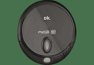 OK. OPC 310-B Tragbarer CD Player Schwarz