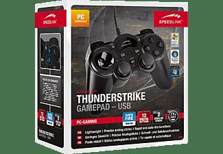 SPEEDLINK Thunderstrike Gamepad Schwarz