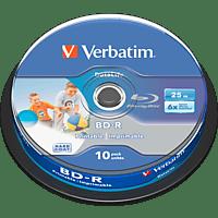 VERBATIM 43804 BD-R SL 25GB Rohling
