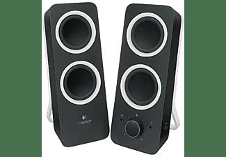 Altavoces PC- Logitech Z200 Multimedia Speakers, 2.0, 10W, color negro