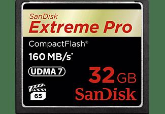 SANDISK Extreme PRO CompactFlash Speicherkarte 32 GB, 160 MB/s