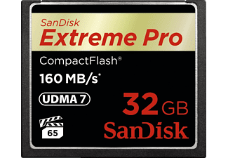 SAN DISK Extreme PRO CompactFlash 32GB - (SDCFXPS-032G-X46)