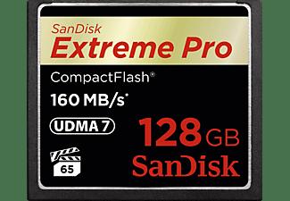 SANDISK Extreme Pro, Compact Flash Speicherkarte, 128 GB, 160 MB/s