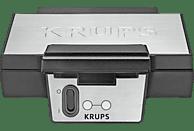 KRUPS FDK 251 Waffeleisen Edelstahl/Schwarz