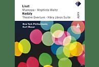 New York Philharmonic - Mazeppa/Mephisto Waltz/Theatre Overture/Hary Janos [CD]
