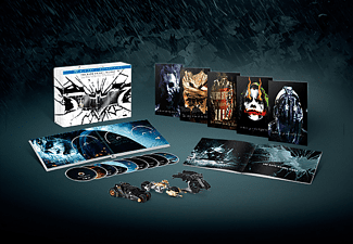 The Dark Knight Trilogy (Ultimate Collector's Edition) Blu-ray