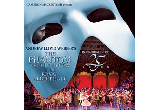 Andrew Lloyd Webber - The Phantom of the Opera - Royal Albert Hall 25 Years (Az Operaház fantomja 25. évforduló) (CD)