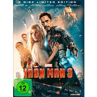 Iron Man 3 (Steelbook Edition) [DVD]