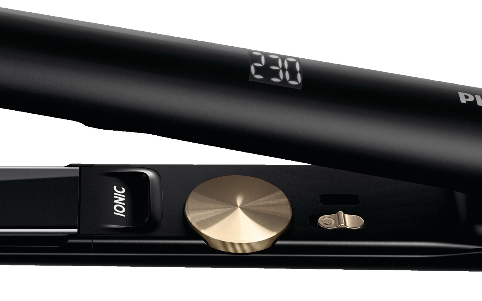 Glätteisen Schwarz PHILIPS HPS 930//00 46 Watt