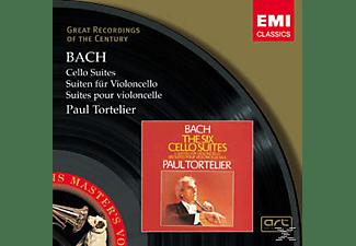 Tortelier Paul - Cellosuiten Bwv 1007-1012  - (CD)