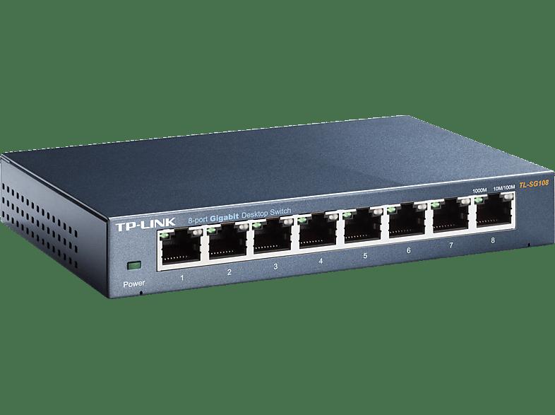 TP LINK Switch de bureau 8 ports (TL-SG108)