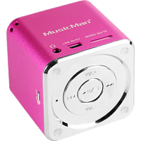 TECHNAXX 3531 Mini Musicman Soundstation Pink Dockingstation