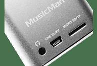 TECHNAXX 3528 Mini Musicman Soundstation Dockingstation, Silber