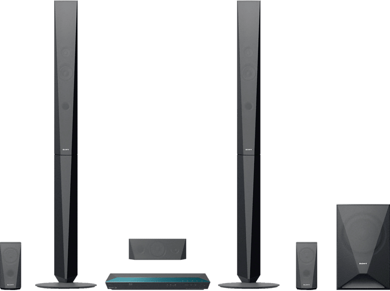SONY BDV-E4100 5.1 Heimkino-System (Bluetooth, App-steuerbar, Schwarz)
