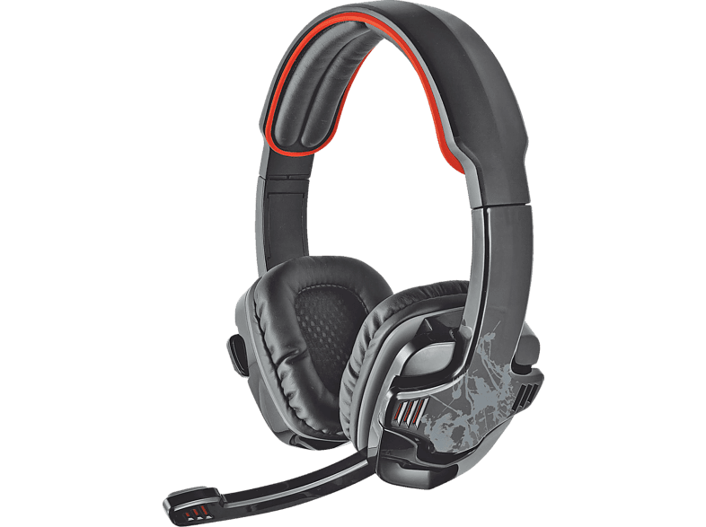 TRUST GXT 340 Gaming Headset Schwarz