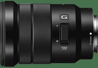 SONY SELP18105G 18 mm - 105 mm f/4.0 G-Lens, OSS, Circulare Blende (Objektiv für Sony E-Mount, Schwarz)