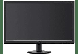 "Monitor - Philips, 243V5LHSB, 23.6"", Full HD, 1920 x 1080, HDMI / VGA / DVI, Negro"