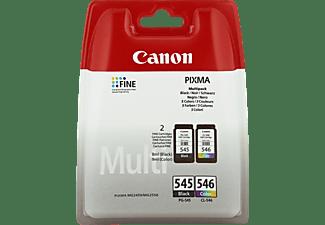 Cartuchos - Canon PG-545 / CL-546 Pack Negro, Cian, Magenta, Amarillo