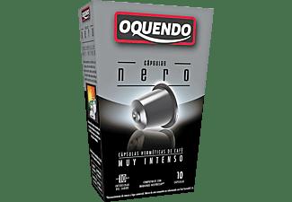 Cápsulas monodosis - Oquendo CP10EF NERO, Pack de 10 cápsulas para 10 tazas, Compatible con