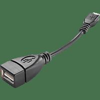 CELLULAR LINE 35314 Micro 1x USB- 1x USB Kupplung Schwarz