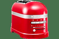 KITCHENAID 5KMT2204EER Artisan Toaster Rot (1250 Watt, Schlitze: 2)