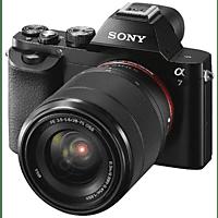 Cámara EVIL - Sony Alpha ILCE 7KB, Sensor de 24.3 MP, Full Frame, Negro + Objetivo SEL 28-70 mm