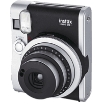 FUJIFILM Instax Mini 90 Sofortbildkamera, Schwarz/Silber