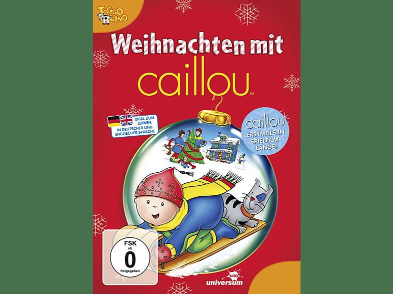 Caillou Weihnachten.Weihnachten Mit Caillou Dvd