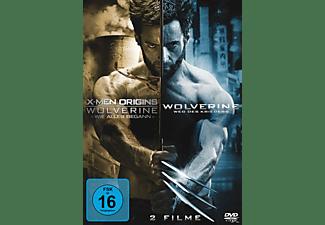 X-Men Origins - Wolverine: Wie alles begann + The Wolverine: Weg des Kriegers Box [DVD]