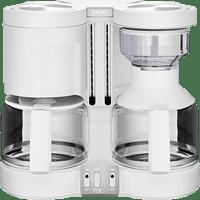 KRUPS KM 8501 Duothek Plus Kaffeemaschine Weiß