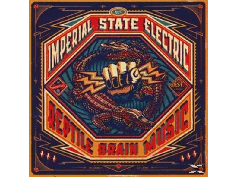 Imperial State Electric - Reptile Brain Music [CD]