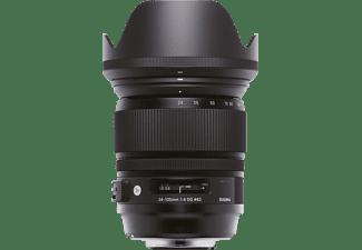 SIGMA 635955 24 mm - 105 mm f/4 DG, OS, HSM (Objektiv für Nikon F-Mount, Schwarz)