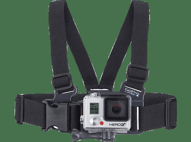 GOPRO Junior Chesty Brustgurt-Halterung 3661-071, Brustgurthalterung, Schwarz, passend für alle GoPro Kameras
